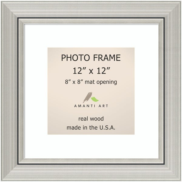 Shop Romano Silver Photo Frame 16 X 16 Inch Free Shipping Today