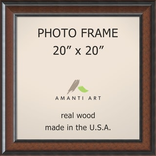 Cyprus Walnut Photo Frame 25 x 25-inch