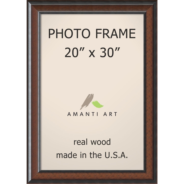 Cyprus Walnut Photo Frame 25 x 35-inch (Walnut Photo Fram...