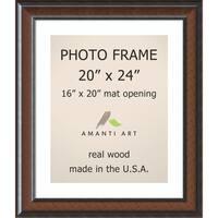 Cyprus Walnut Photo Frame 25 x 29-inch