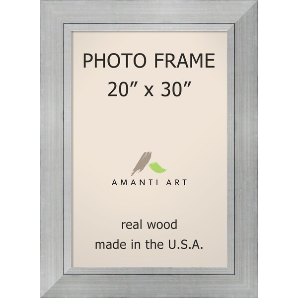 romano silver photo frame 27 x 37 inch free shipping today
