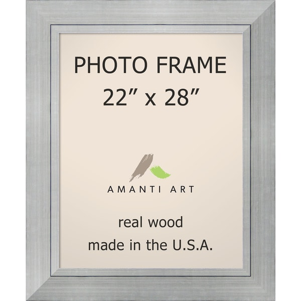 Shop Romano Silver Photo Frame 29 X 35 Inch Free Shipping Today