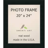 Corvino Black Photo Frame (25 x 29-inch)