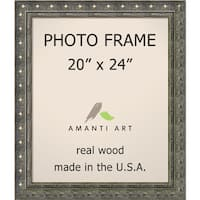Pewter Barcelona Photo Frame 24 x 28-inch