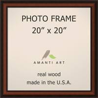 Bella Noce Walnut Photo Frame 23 x 23-inch