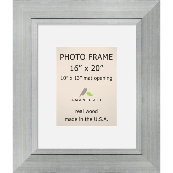 Shop Romano Silver Photo Frame\' 23 x 27-inch - Free Shipping Today ...