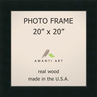 Corvino Black Photo Frame 25 x 25-inch