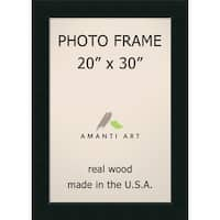 Corvino Black Photo Frame 25 x 35-inch