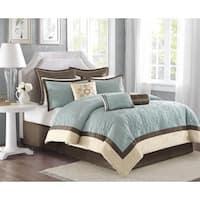 Madison Park Melanie 9-piece King Size Comforter Set (As Is Item)