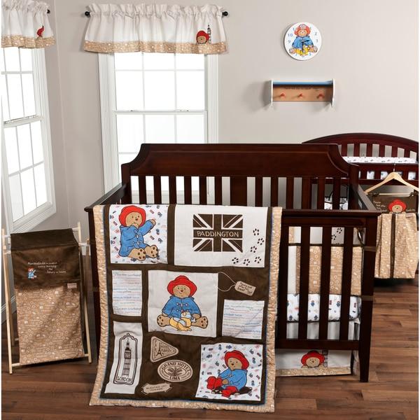 Shop Trend Lab Paddington Bear 3 Piece Crib Bedding Set