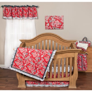 Shop Trend Lab Paisley Park 6 Piece Crib Bedding Set