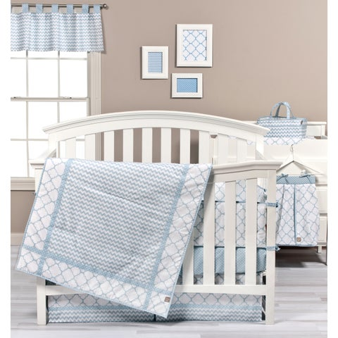 Trend Lab Blue Sky 3-piece Crib Bedding Set
