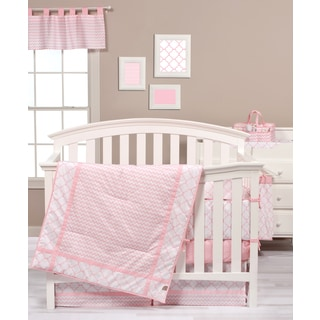 Trend Lab Pink Sky 3-piece Crib Bedding Set