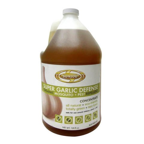 Sun Joe Super Garlic Defense Organic Mosquito and Pest Repellent - SJ2-SGD128
