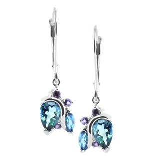 M.V. Jewels 14k Gold Alexandrite and Amethyst Earrings|https://ak1.ostkcdn.com/images/products/10098373/P17239830.jpg?impolicy=medium