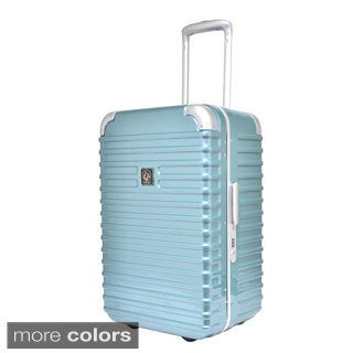 Traveler's Club Seat On Collection 20-inch Hardside Rolling Carry-on Upright Suitcase