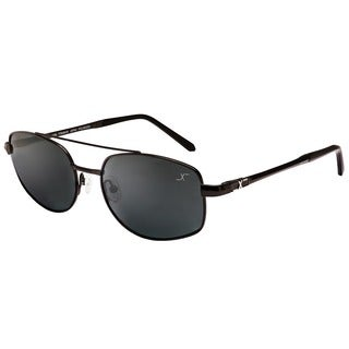 Xezo Men's Skyhawk Titanium Polarized Pilot Sunglasses