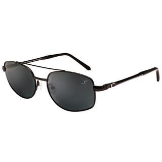 Xezo Men's Skyhawk Titanium Polarized Pilot Sunglasses