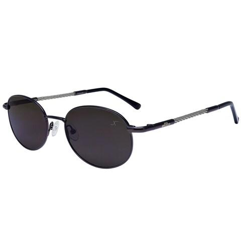 Xezo Unisex Mustang Titanium Cable Polarized Sunglasses