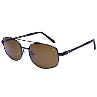 Xezo Men's Skyhawk Pure Titanium Polarized Pilot Sunglasses