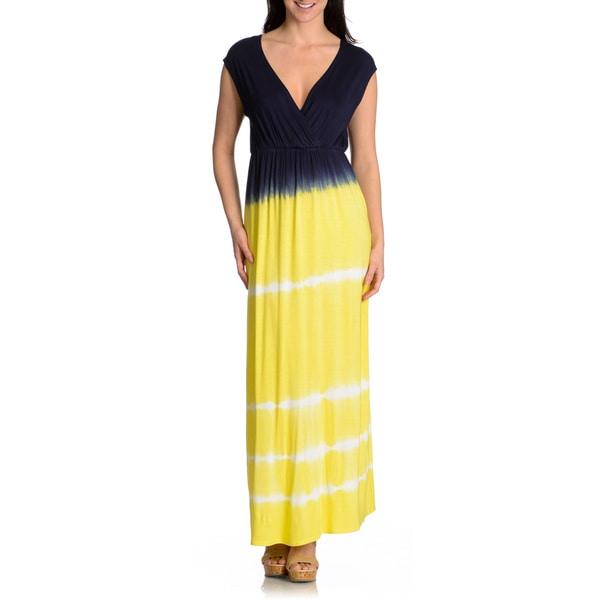 Shop Chelsea Theodore Women S Tie Dye Maxi Dress Free Shipping