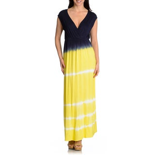 Chelsea & Theodore Women's Tie Dye Maxi Dress