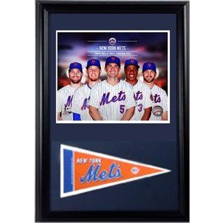 MLB 2014 New York Mets 12x18 Pennant Frame
