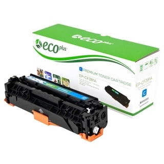 ECOPLUS HEWLETT PACKARD 312A (CF381A) Toner Cartridge (CYAN)