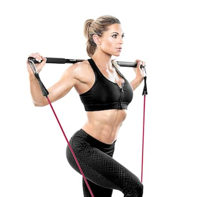 Bionic Body Exercise Bar - Black
