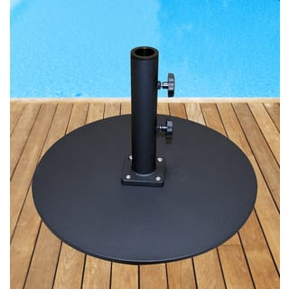 TropiShade Steel Plate Base Commercial Grade, 50-pounds