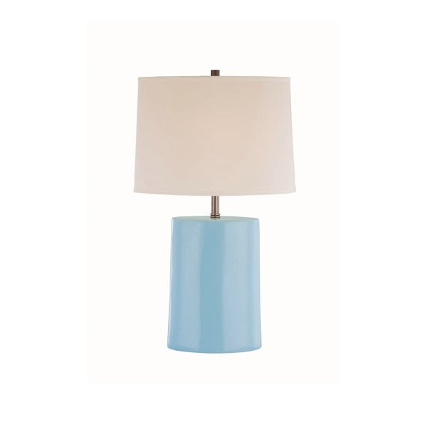 Lite Source Jayvon Light Blue Table Lamp