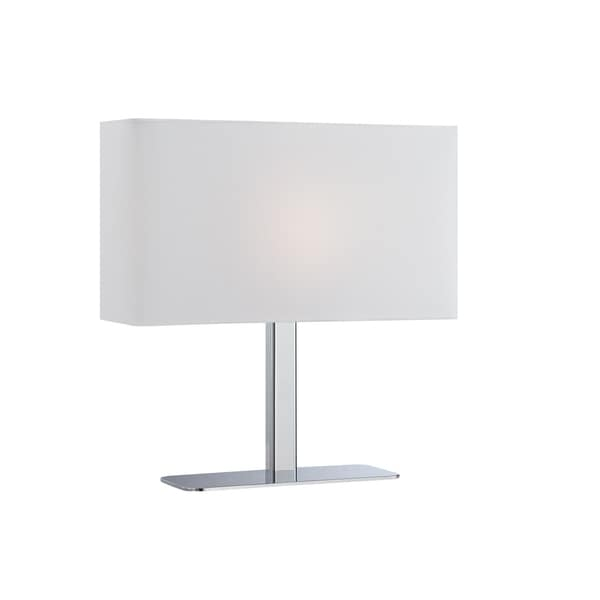 Lite Source Levon White Table Lamp