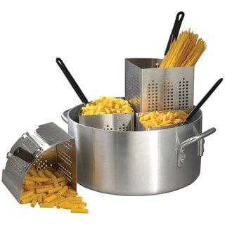 Winco 20-Quart Aluminum Pasta Cooker