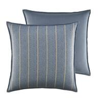 Croscill Captain's Quarters Blue Striped European Sham