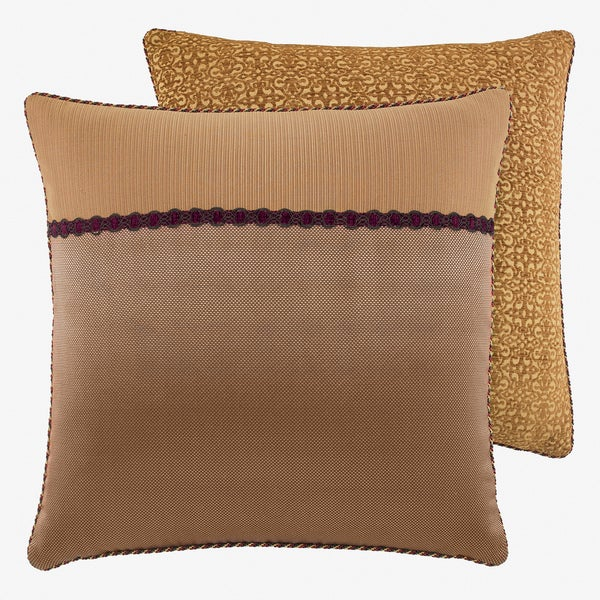 Croscill Avellino Brown European Sham