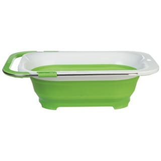 Progressive International Prepworks Collapsible Over-The-Sink Colander
