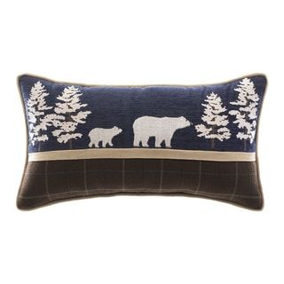 Croscill Clairmont Bear Boudoir Pillow