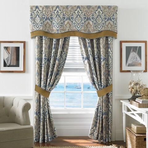 Croscill Captain's Quarters Rod Pocket Curtain Panel Pair - 41 x 84