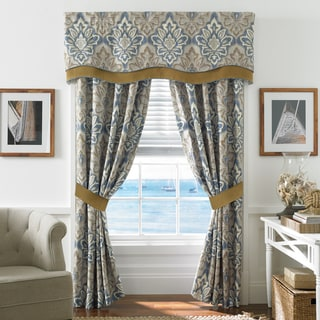 Croscill Captain's Quarters Rod Pocket Curtain Panel Pair