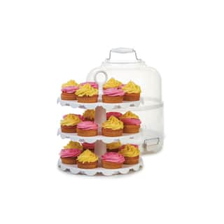 Progressive International PL8 Cupcake Carrier and Display|https://ak1.ostkcdn.com/images/products/10099006/P17240355.jpg?impolicy=medium