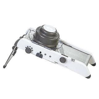 Progressive International PL8 Professional Mandoline in White