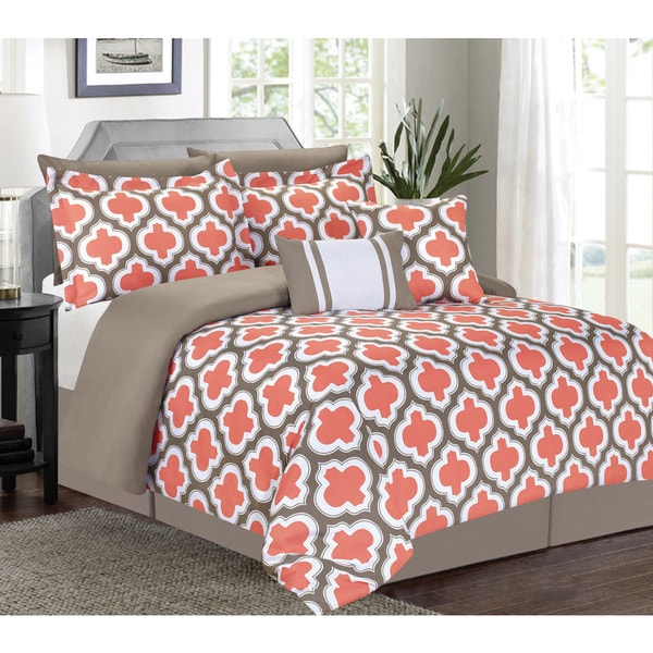 Greengate Coral 7 Piece Comforter Set Free Shipping