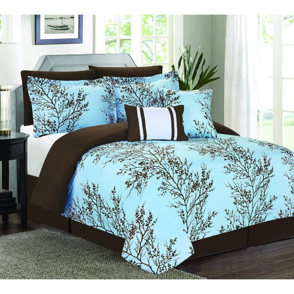 Magic Blue 7-piece Comforter Set