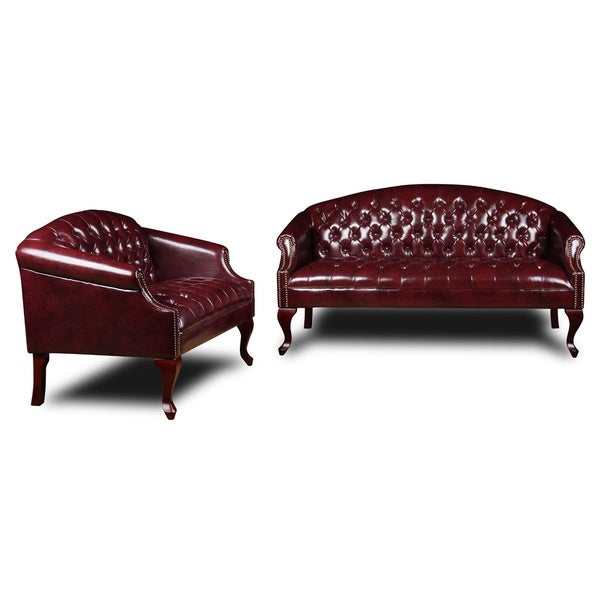 Boss Clic Traditional On Tufted Sofa Or Loveseat