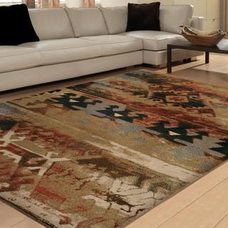 Vivacious Collection Zodiac Multi Area Rug (5'3 x 7'6)