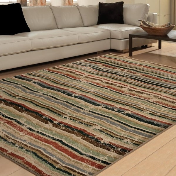 Carolina Weavers Brilliance Collection Copula Multi Area Rug - 5'3 x 7'6