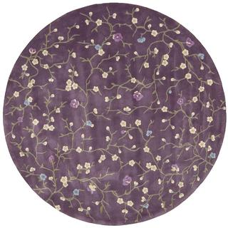 Rug Squared Beaumont Lavender Rug (6' Round)