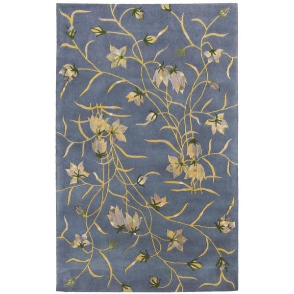 "Rug Squared Beaumont Light Blue Rug - 3'6"" x 5'6"""