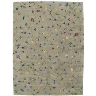 Rug Squared Beaumont Light Green Rug (8' x 11')