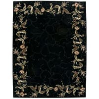 Rug Squared Beaumont Black Rug - 8' x 11'